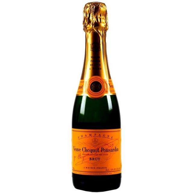 Yellow Label Brut Champagne Blend NV (375ml)