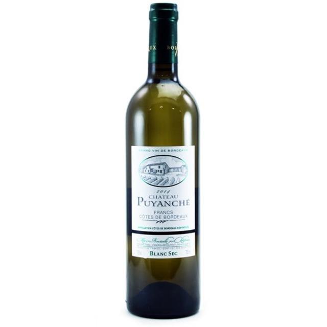 Côtes de Francs Sémillon-Sauvignon Blanc Blend 2014