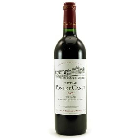 Château Pontet-Canet Pauillac Red Bordeaux Blend 2003
