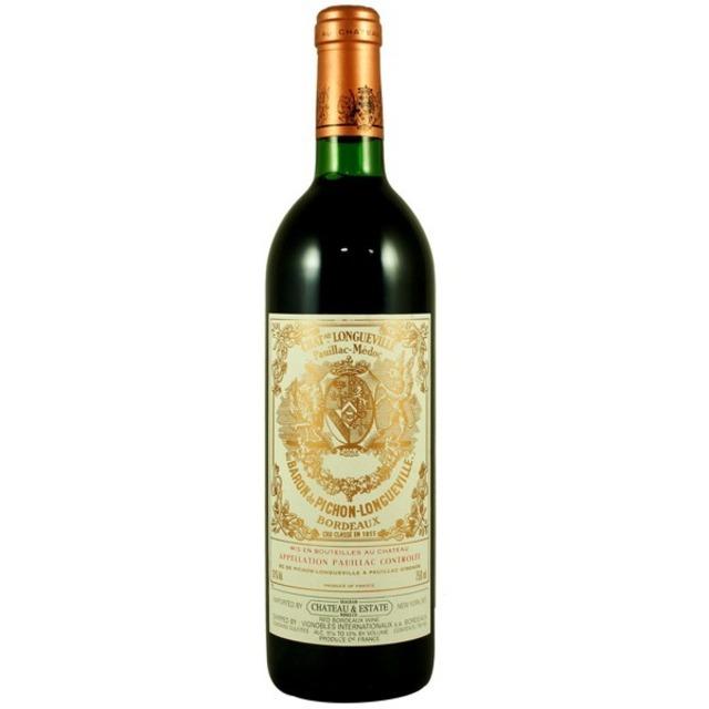 Baron de Pichon-Longueville Pauillac Red Bordeaux Blend 1986