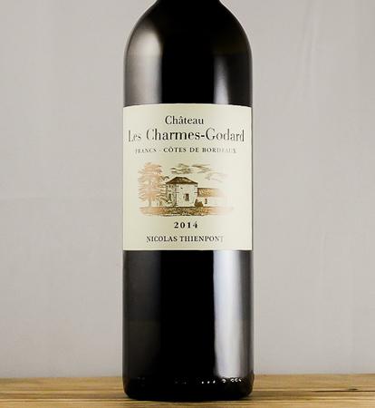 Château les Charmes-Godard Côtes de Francs White Bordeaux Blend 2014