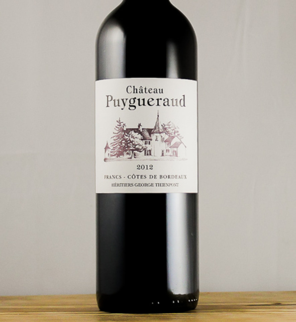 Bordeaux Côtes de Francs Red Bordeaux Blend 2012