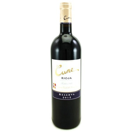 C.V.N.E. (Compañía Vinícola del Norte de España) Cune Reserva Rioja Tempranillo Blend 2012