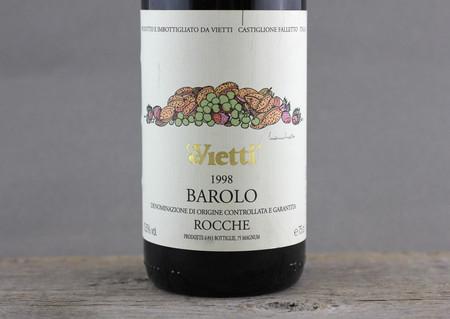 Vietti Rocche Barolo Nebbiolo 1998
