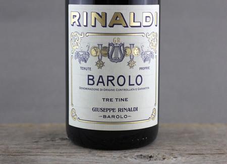 Giuseppe Rinaldi Tre Tine Barolo Nebbiolo 2010