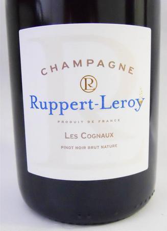 Ruppert-Leroy Les Cognaux Brut Nature Champagne Pinot Noir 2013
