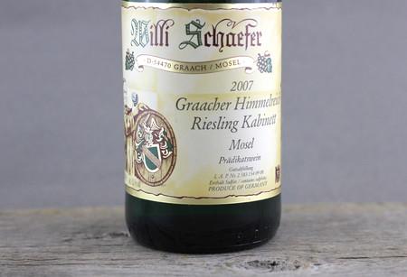 Willi Schaefer Graacher Himmelreich Kabinett Riesling 2007