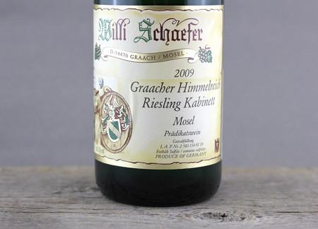 Willi Schaefer Graacher Himmelreich Kabinett Riesling 2009