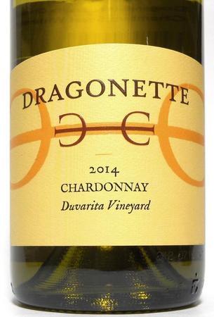Dragonette Cellars Duvarita Vineyard Chardonnay 2014