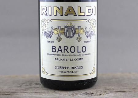 Giuseppe Rinaldi Brunate Le Coste Barolo Nebbiolo 2005