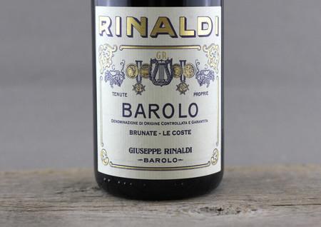Giuseppe Rinaldi Brunate Le Coste Barolo Nebbiolo 2006