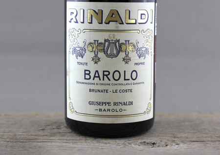 Giuseppe Rinaldi Brunate Le Coste Barolo Nebbiolo 2007