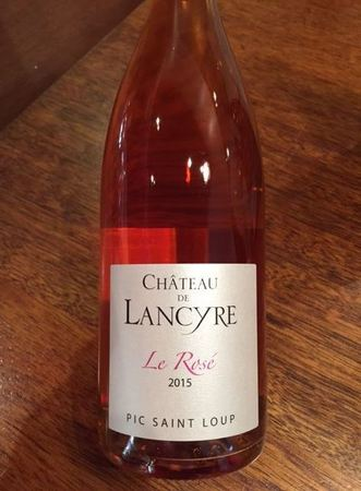 Château de Lancyre Pic Saint-Loup Rosé Blend 2015