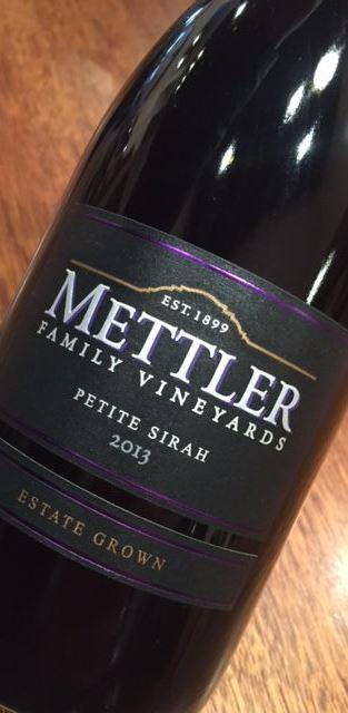 Mettler Family Vineyards Lodi Petite Sirah Blend 2014