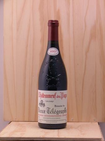 Domaine du Vieux Télégraphe La Crau Châteauneuf-du-Pape Red Rhone Blend 2014