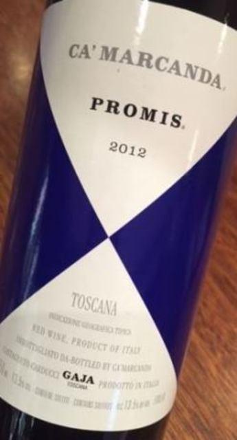 Gaja Ca'Marcanda Promis Toscana Sangiovese Blend 2013