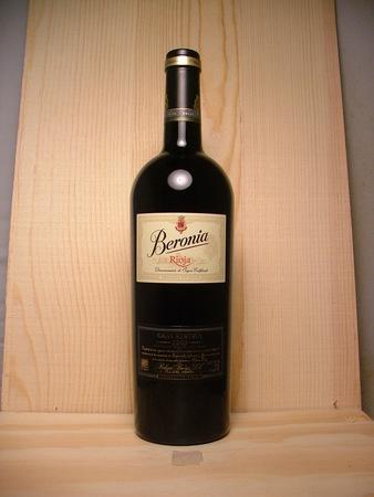 Bodegas Beronia Gran Reserva Rioja Tempranillo Blend 2008