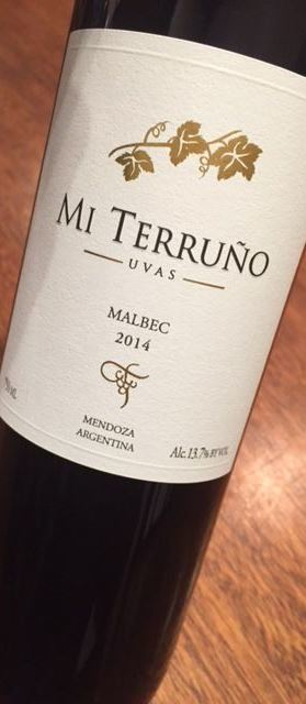 Mi Terruño Uvas Mendoza Malbec 2015