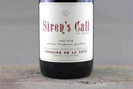 Domaine de la Côte Siren's Call Sta. Rita Hills Pinot Noir 2014