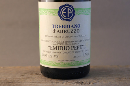 Emidio Pepe Trebbiano d'Abruzzo  2014