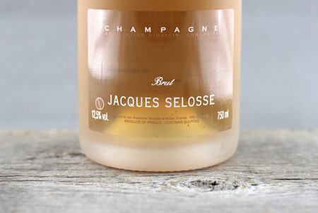 Jacques Selosse Brut Rosé Champagne Blend NV