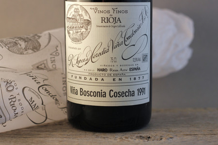 R. López de Heredia Viña Bosconia Gran Reserva Rioja Tempranillo Blend 1991