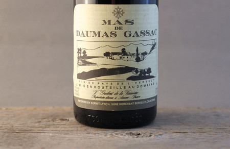 Daumas Gassac Mas de Daumas Gassac Vin de Pays de l'Hérault Red Bordeaux Blend 1988