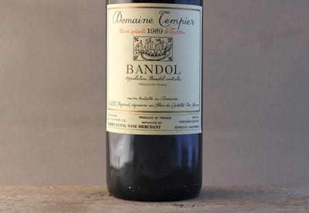 Domaine Tempier Cuvée La Tourtine Bandol Mourvedre Blend 1989 (1500ml)