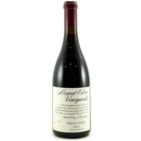 Mount Eden Vineyards Estate Bottled Santa Cruz Mountains Pinot Noir 2012