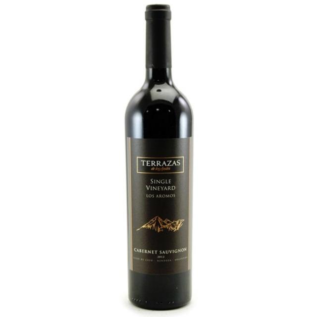 Terrazas De Los Andes Los Aromos Single Vineyard Cabernet Sauvignon 2012 Sokolin