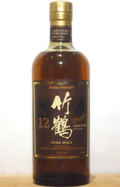 Nikka Whisky Distilling Company Black Label Taketsuru Pure Malt Whisky  NV