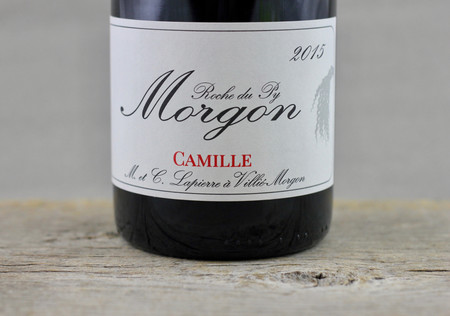 Marcel Lapierre Camille Morgon Gamay 2015