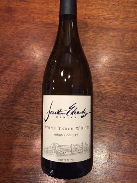 Stone Table White Sonoma County Pinot Grigio Chardonnay