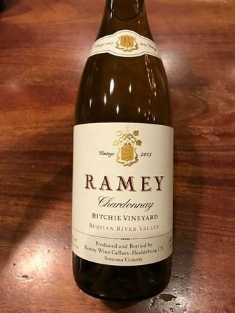 Ramey Wine Cellars Ritchie Vineyard Chardonnay 2013