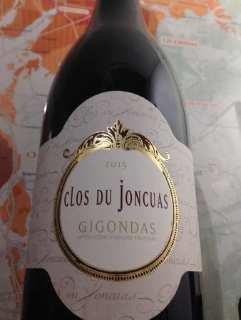 Clos du Joncuas Gigondas Red Rhone Blend 2015