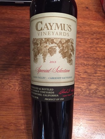 Caymus Vineyards Special Selection Napa Valley Cabernet Sauvignon 2014