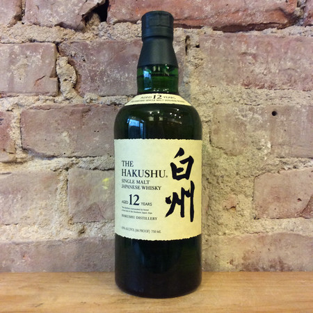 Suntory The Hakushu 12 Year Old Single Malt Japanese Whisky NV