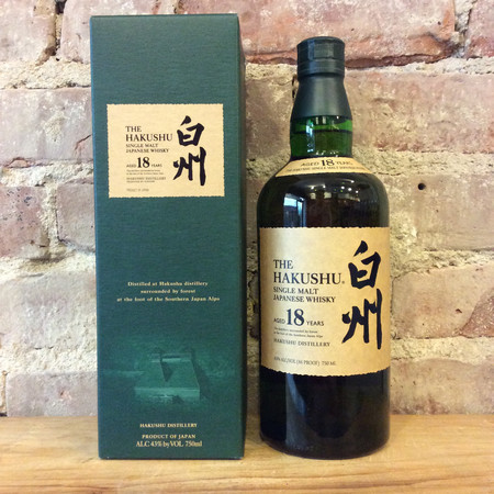 Suntory The Hakushu 18 Year Old Single Malt Whisky NV