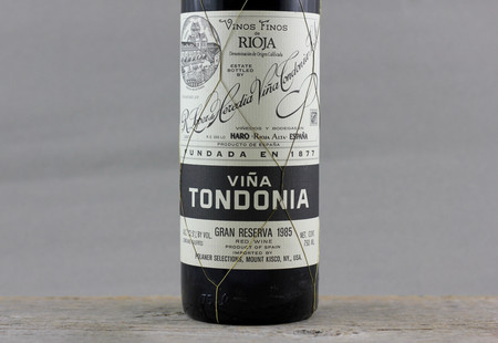 R. López de Heredia Viña Tondonia Gran Reserva Rioja Tempranillo Blend 1985