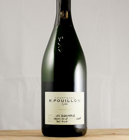 R. Pouillon & Fils Les Blanchiens Brut Nature 1er Cru Champagne Blend 2008