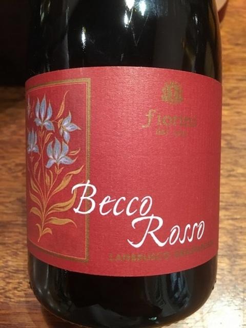Becco Rosso Grasparossa di Castelvetro Lambrusco  NV