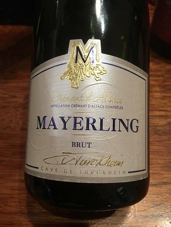 Cave de Turckheim Mayerling Brut Crémant d'Alsace White Blend NV
