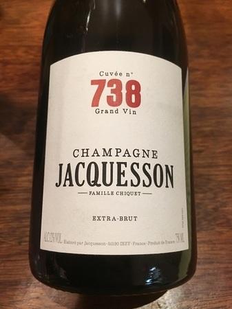 Jacquesson & Fils Cuvée No. 738 Extra Brut Champagne Blend