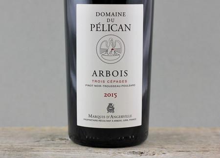 Domaine du Pélican Trois Cépages Arbois Pinot Noir Blend 2015