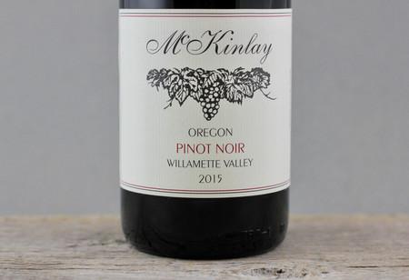 McKinlay Willamette Valley Pinot Noir 2015