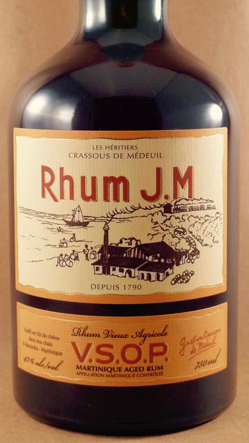 Rhum J.M V.S.O.P Rhum Vieux Agricole Exceptional Rum NV