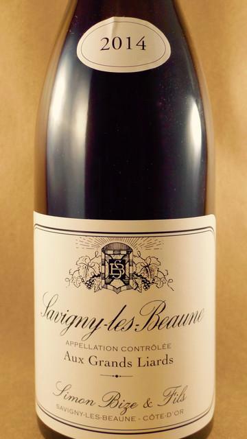 """Simon Bize & Fils """"Aux Grands Liards"""" Savigny-lès-Beaune Pinot Noir 2014"""