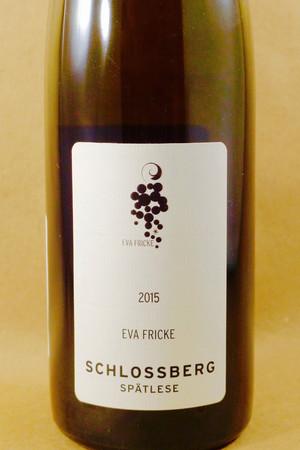 Eva Fricke Lorcher Schlossberg Riesling 2015