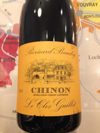 Domaine Bernard Baudry Le Clos Guillot Chinon Cabernet Franc 2014