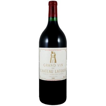 Château Latour Grand Vin de Château Latour Pauillac Red Bordeaux Blend 1982 (1500ml)